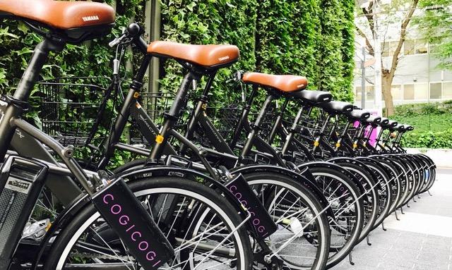 COGI COGI リースの自転車の画像