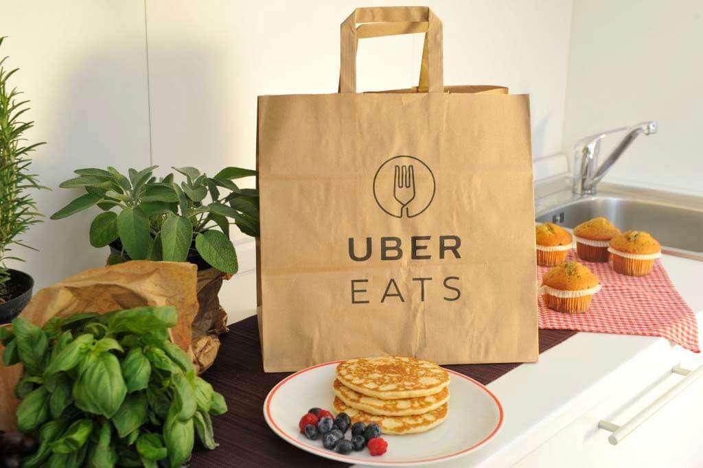 Uber Eats(ウーバーイーツ)のオーダー