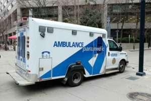 カナダ・トロントの救急車