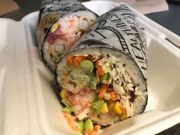 Rolltationの手巻き寿司