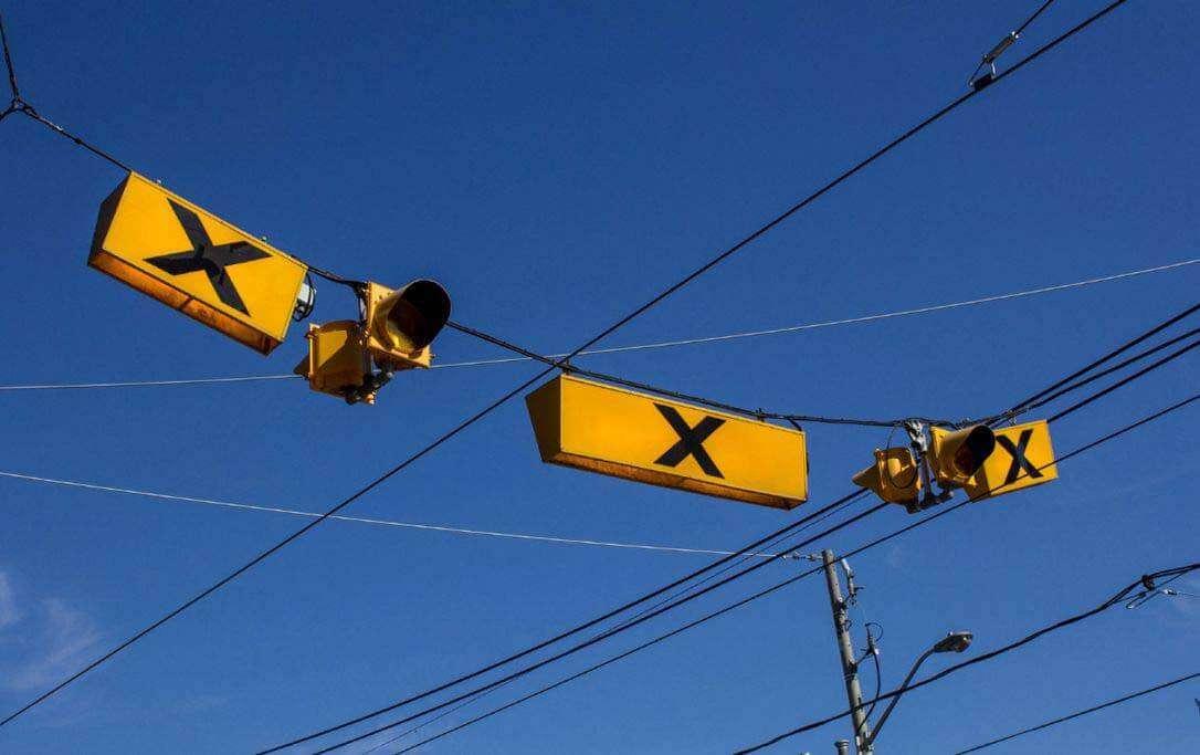 カナダ・トロントの歩行者用信号