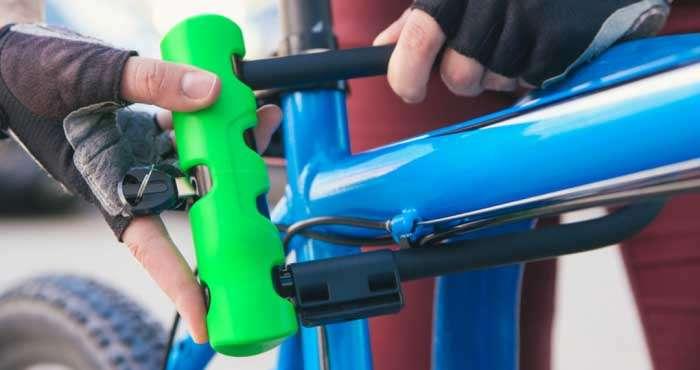 自転車用のUロック
