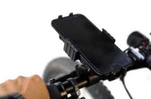 自転車用スマホホルダー