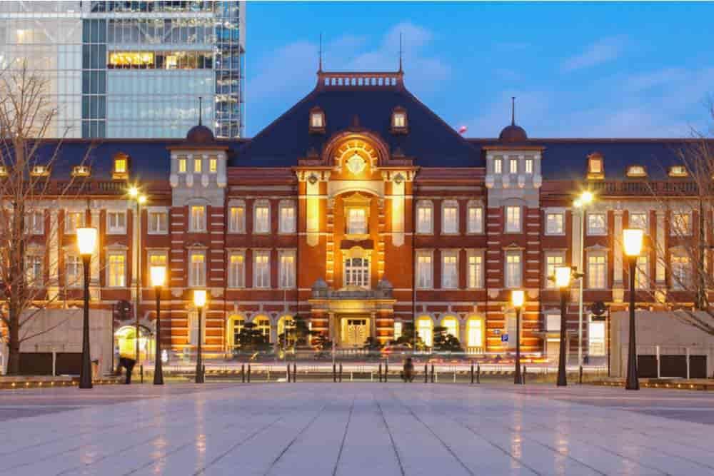 東京駅の正面