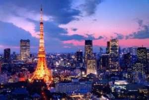 東京タワーの夜景