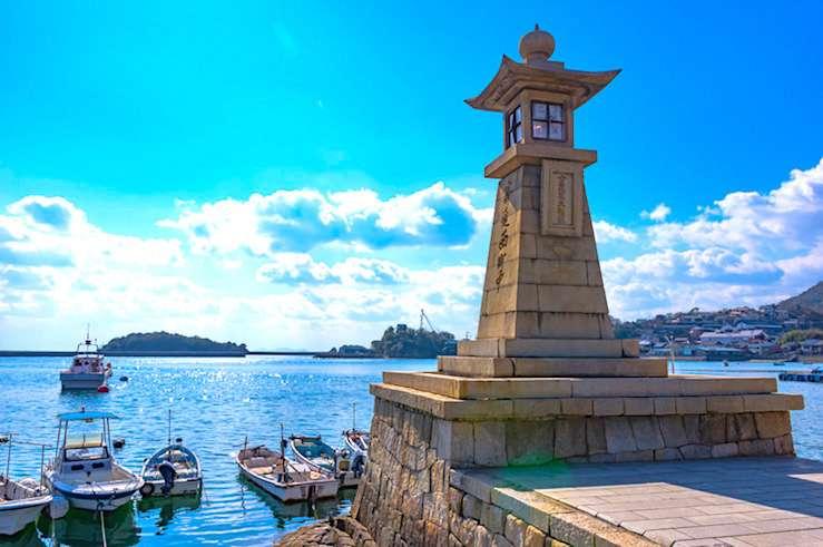 福山市・鞆の浦の風景
