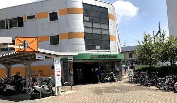 宇都宮のレンタル自転車「TABIRIN」の入り口