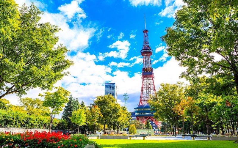 札幌・すすきのの風景