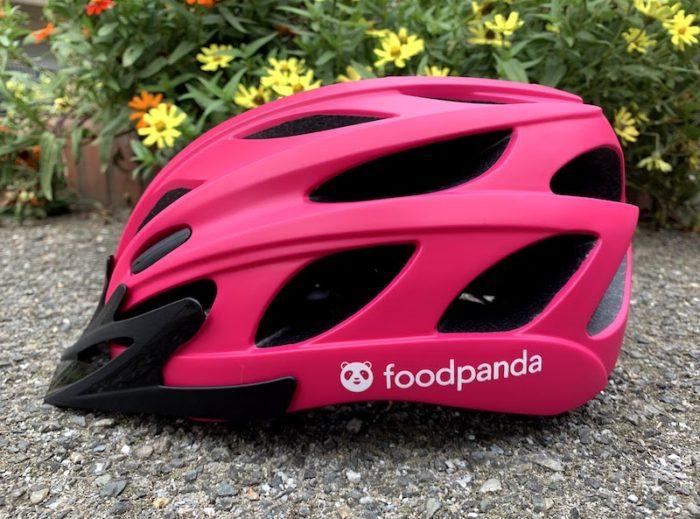 Foodpanda(フードパンダ)のヘルメット