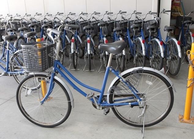 レンタル自転車「駅リンくん」の写真